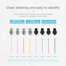Creality3D Up-market 8pcs Extruder Nozzle Kit For Ender 3 Series/Ender 5 Series/CR-10 Series 3D Printer