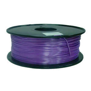 PLA 3D Printer Filament, 1.75mm, 1kg Spool, Silk Purple