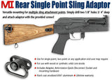 Midwest Industries Single Point QD Rear Sling Adapter for AK
