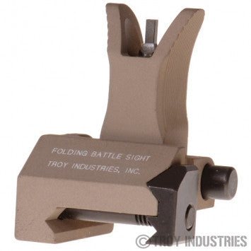 TROY Front Folding M4 Style Battle Sight (Flat Dark Earth)