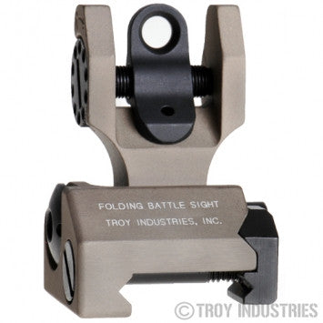 TROY Rear Folding Battle Sight (Flat Dark Earth)