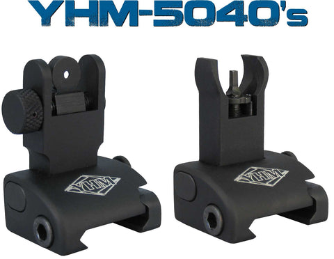 YHM QDS Flip-up Sights (Front & Rear)