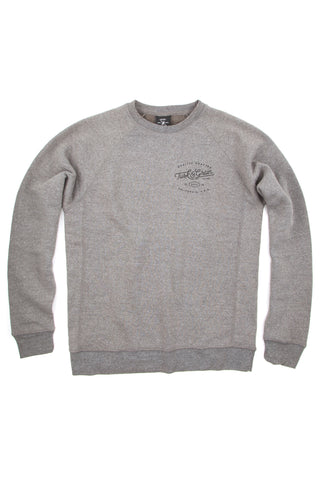 TUSK & GRAIN CREW NECK FLEECE