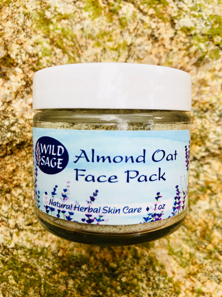 Almond Oat Face Pack