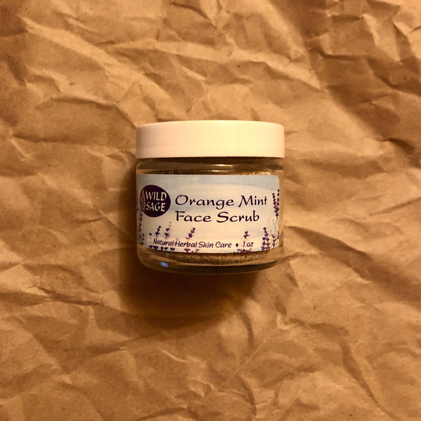 Orange Mint Face Scrub