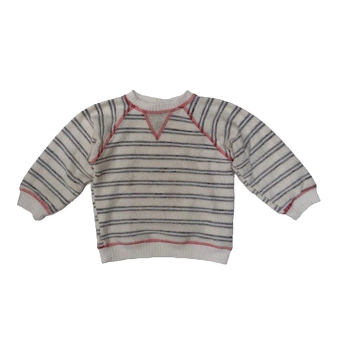 Straight Up Stripe Sweatshirt