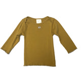 Long Sleeve Lap Shoulder Tee