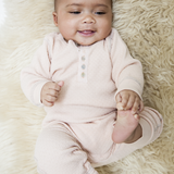 Pointelle Baby Suit