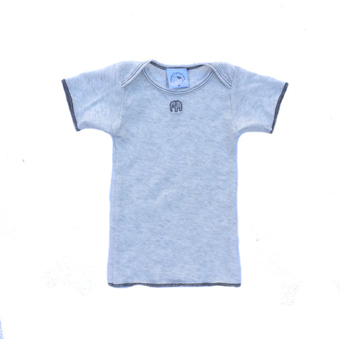 Omage Heather Grey Short Sleeve Lap T