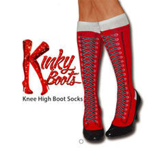 "Red Kinky ""Boots"" Socks"