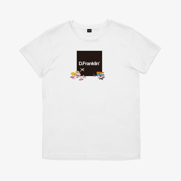 Dexter Lab White Tee