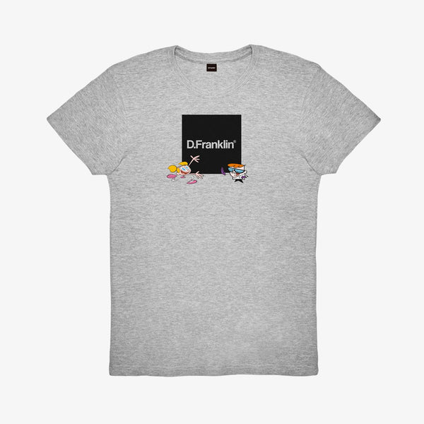 Dexter Lab Grey Tee