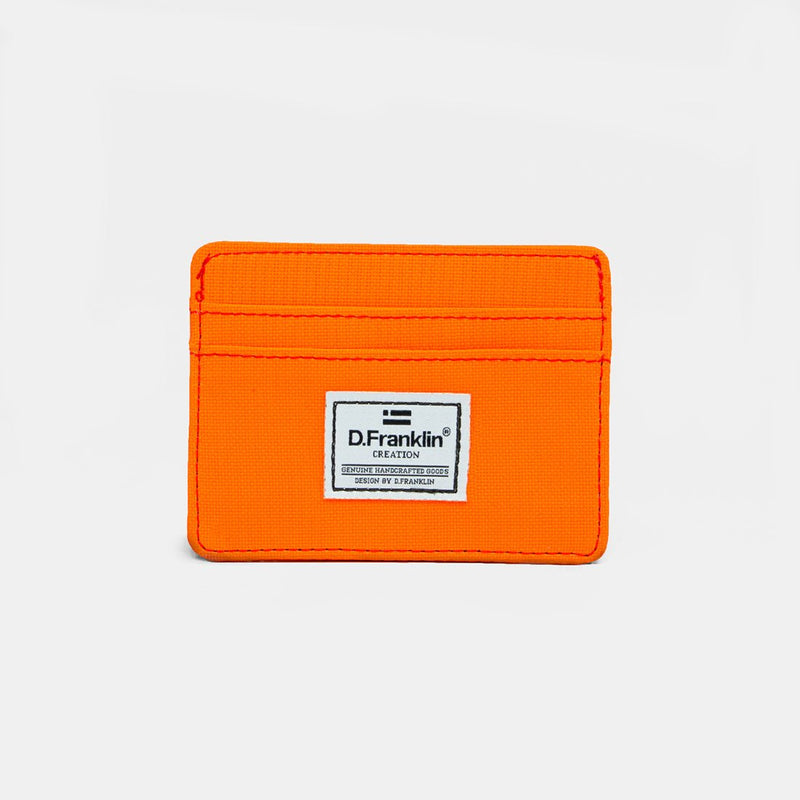 Day-Glo Orange Cardholder