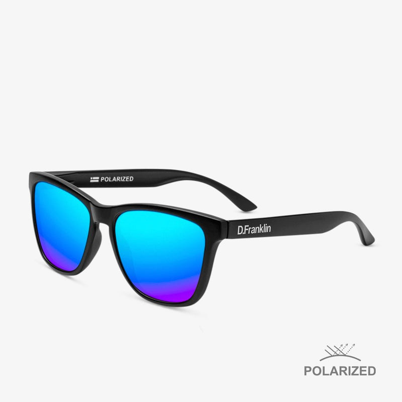 Roosevelt Black Matte / Blue Polarized