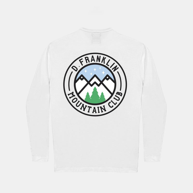 Peak Long Sleeve T-Shirt White