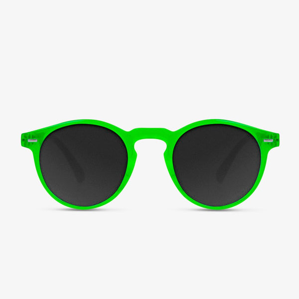 Ultra Light Green Day-Glo / Black Polarized