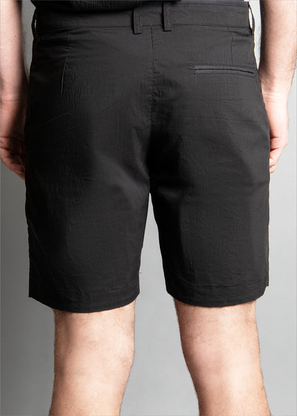 REVERSIBLE ECRU CUT FIOR SHORT