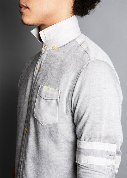 LUSTRIO OXFORD GREY SHIRT