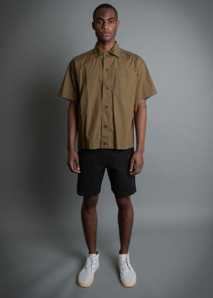 WIDE PRISAO FIT OLIVE SHIRT