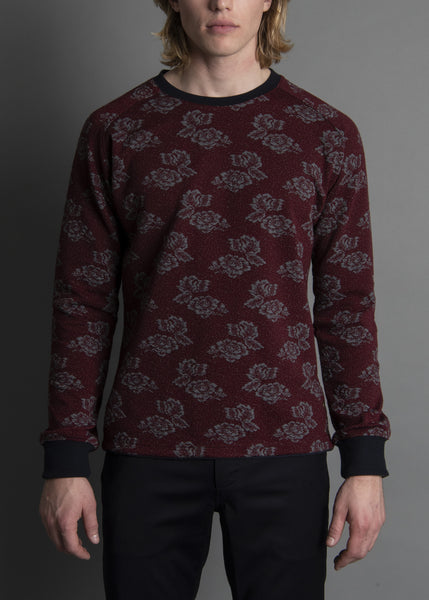 ALL OVER JACQUARD KNIT