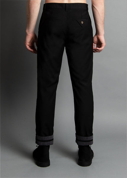 RUN & GUN FIT: DRESS PANT BLACK