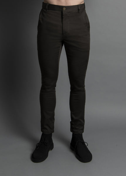 RANSOM FIT: DEEP OLIVE TWILL PANT