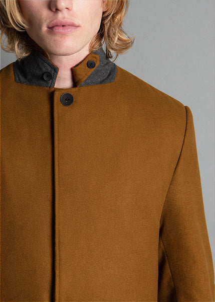 ALMOND LAPEL JACKET