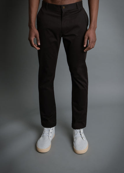 RUN & GUN FIT: BLACK STRETCH TWILL