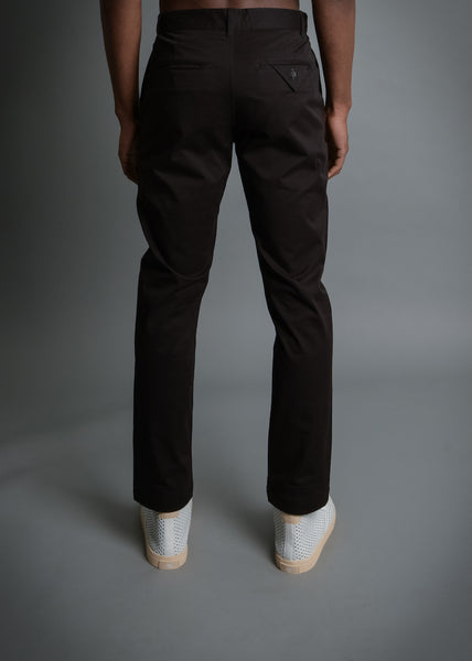 RUN & GUN FIT: BLACK SOFT TWILL PANT