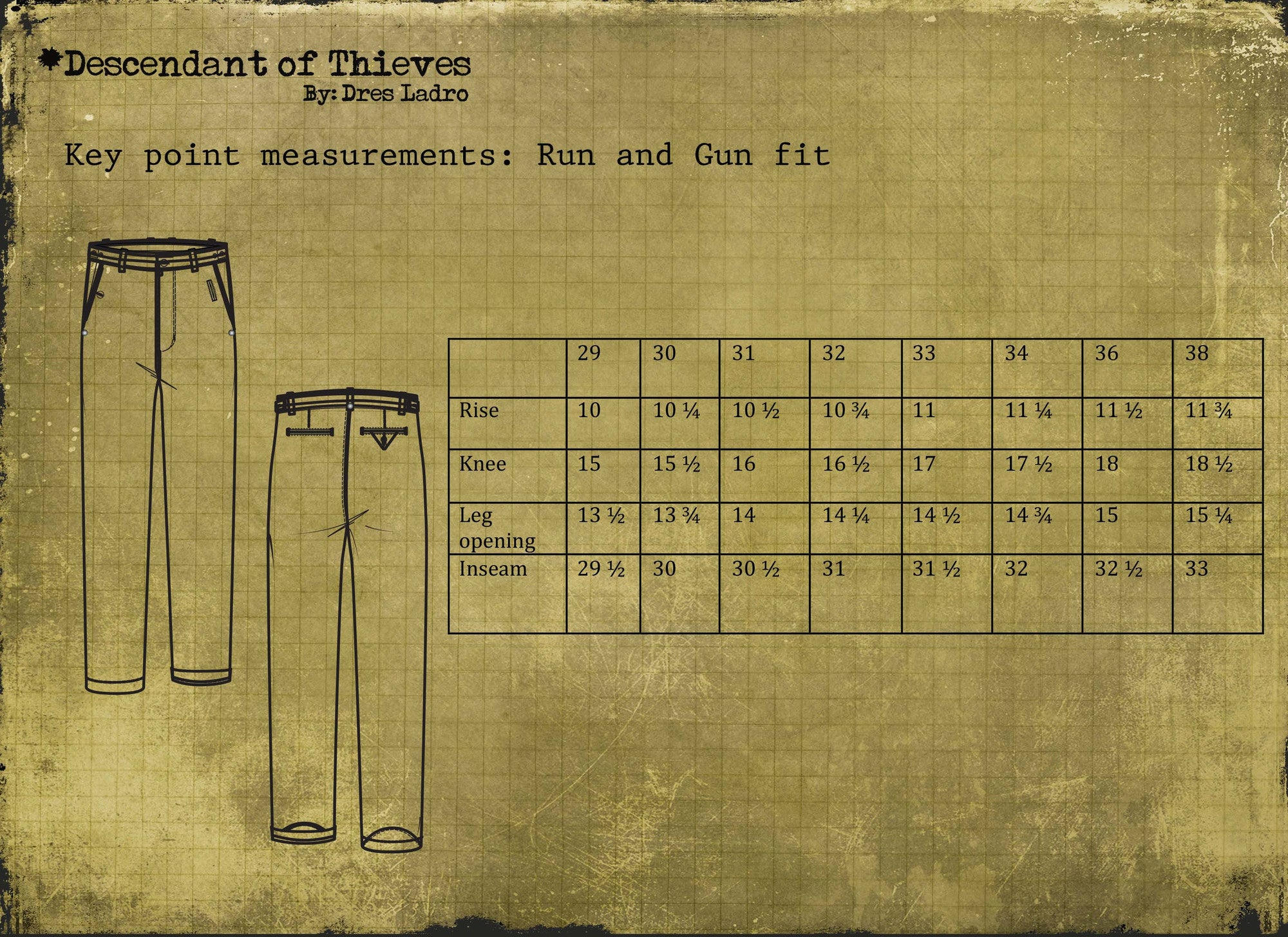 fit guide pants