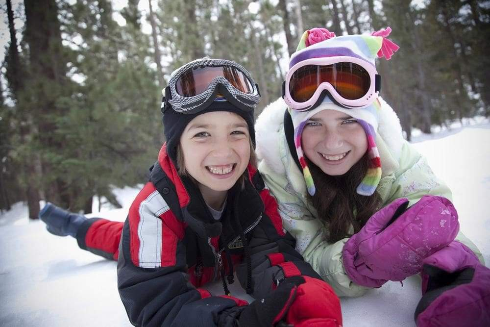 Sunscreen in winter? Why it's key for kids all year long.
