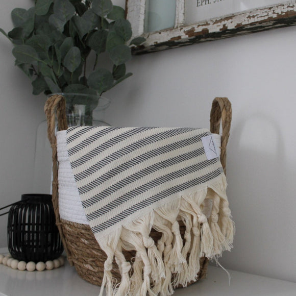 Turkish hand towel - Abyss stripe