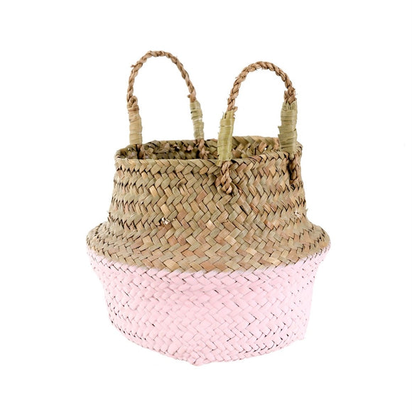 Pink dipped belly basket
