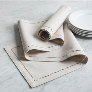 Linen look table runner