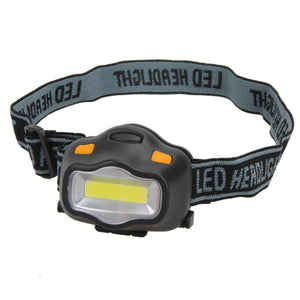 12 COB LED Headlight Fishing Camping Riding Outdoor Hiking Lighting Head Lamp