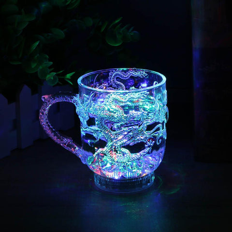 Luminous Lighting Up with Water Cups Liquid Induction Flash Cup