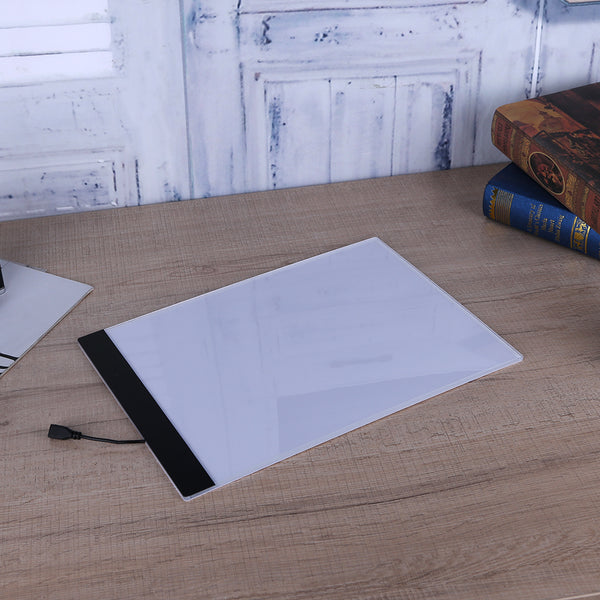 USB LED A4 LED Copy Art Drawing Tracing Stencil Board Artist Table Plate