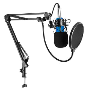 BM-800 Microphone 3.5mm Wired Condenser Sound Microphone for Recording