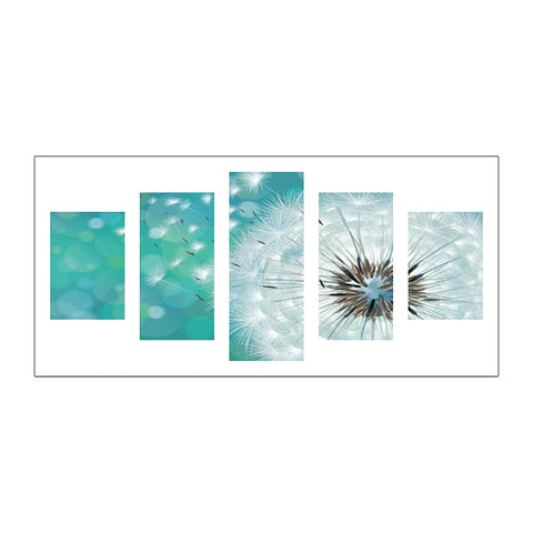 5pcs Diamond Painting - Full Round - Dandelion
