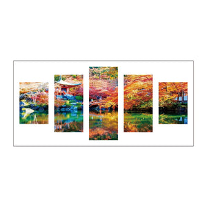 5pcs Diamond Painting - Full Round - Beautiful Scenery