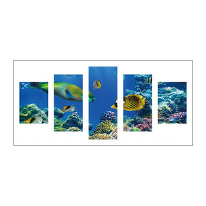5pcs Diamond Painting - Full Round - Undersea World