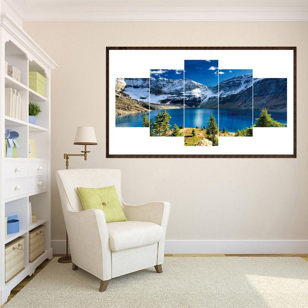 5pcs Diamond Painting - Full Round - Blue Sky Sea