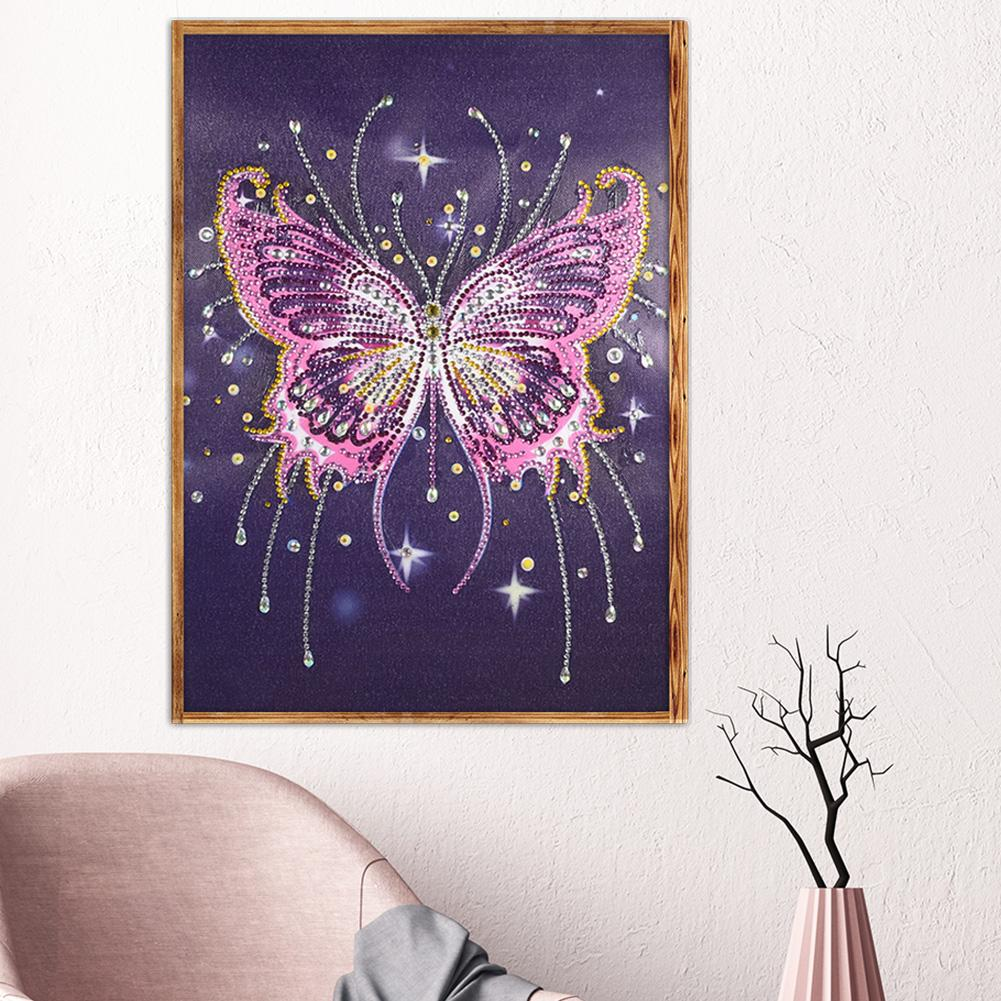 Special Shaped Diamond Painting butterfly DIY 5D Cross Stitch Home decor  X