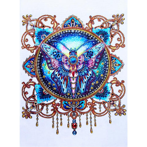 Diamond Painting - Crystal Rhinestone - Butterfly