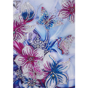 Diamond Painting - Crystal Rhinestone - Flowers