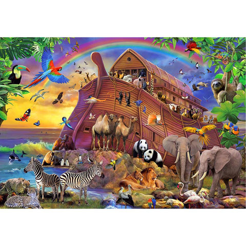 Diamond Painting -Full Round - Animals Party