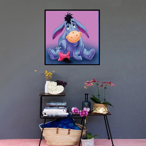 Diamond Painting - Full Round - Eeyore