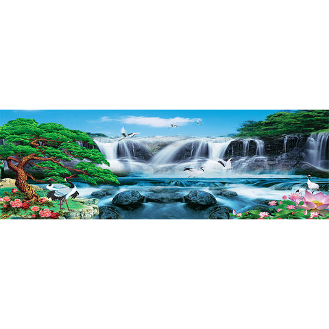 Diamond Painting - Full Round - Great Waterfall (80*30cm)
