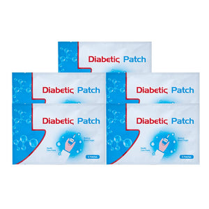 6pcs/bag Diabetic Patch Diabetes Herbal Diabetes Cure Lower Blood Glucose