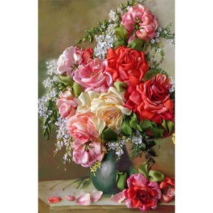 Diamond Painting - Full Round - Flower (40*60cm)